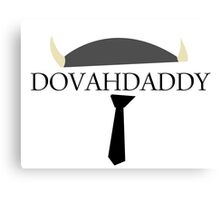 DovahDaddy Canvas Print