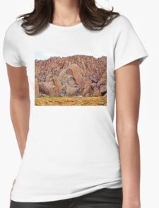Fractured rock Womens Fitted T-Shirt