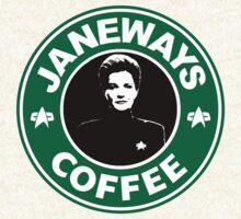 Janeway Starbucks Art by KJaneway