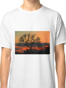 A Typical African Sunset! Classic T-Shirt