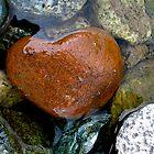Heart stone,Atlas Mountains by Amanda Gazidis