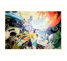 Inside sonic Space Art Print