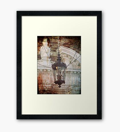 In Suspension Framed Print