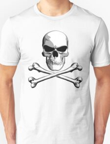 Skull with Meh Attitude T-Shirt