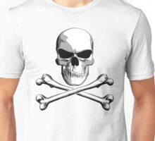 Skull with Meh Attitude Unisex T-Shirt