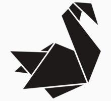 Origami swan Kids Tee