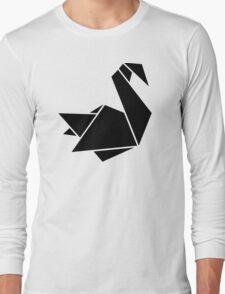 Origami swan Long Sleeve T-Shirt