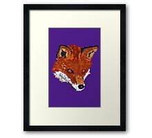 Sly as a Fox Framed Print