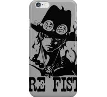 Fire Fists Ace One Piece iPhone Case/Skin