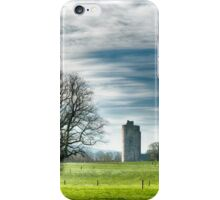 Kilworth Castle HDR early morning light iPhone Case/Skin