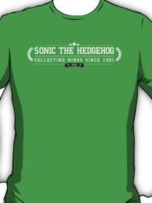 Sonic The Hedgehog - Retro White Clean T-Shirt
