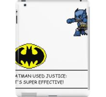Batman/Pokemon pixel art cross over! iPad Case/Skin
