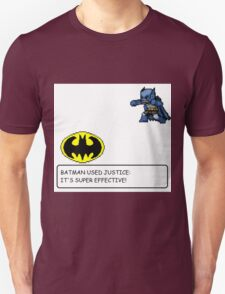Batman/Pokemon pixel art cross over! Unisex T-Shirt