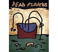 dead flowers Photographic Print