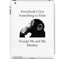 Me & My Monkey iPad Case/Skin