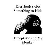 Me & My Monkey Photographic Print