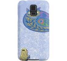 Alice and the Cheshire Paisley Samsung Galaxy Case/Skin