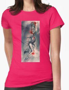 """""""parody"""" tshirt Womens Fitted T-Shirt"""