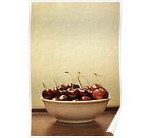 Bowl o' Cherries Poster