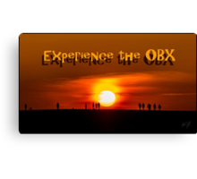 experience the OBX Canvas Print