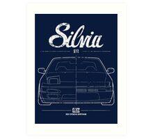 Silvia S13|180SX Art Print