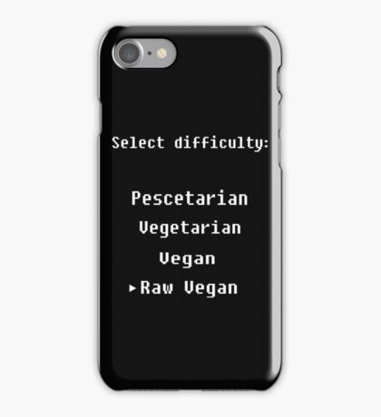 Select your difficulty iPhone Case/Skin
