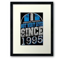 Carolina Football  Framed Print