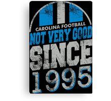 Carolina Football  Canvas Print