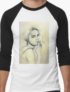 Edie Painting Men's Baseball ¾ T-Shirt