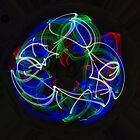 Painting with light by Jayson Gaskell