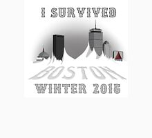 I Survived Boston Winter 2015 Unisex T-Shirt