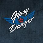 Gipsy Danger - white text by TheBatchild