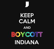 Keep Calm and Boycott Indiana Unisex T-Shirt