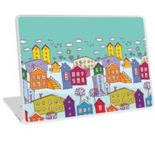 winter landscape Laptop Skin