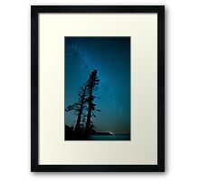 Acadian Sky Way Framed Print