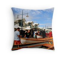 photoj Tas, Launceston Boat Show Throw Pillow
