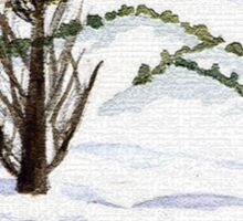 Snow- Landscape Sticker