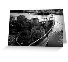 Bon Voyage: Constitution Dock, Hobart, Tasmania Greeting Card