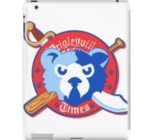 Wrigleyville Times Big Logo iPad Case/Skin