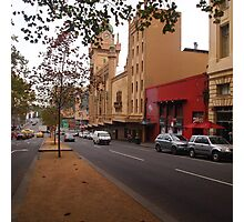A funny thing happened on the way to the Forum!! Melb. VIC Australia Photographic Print