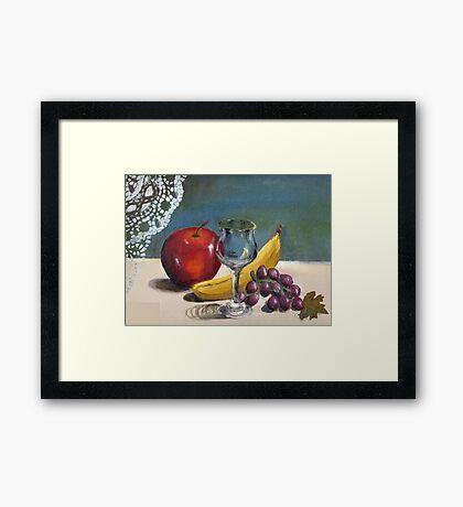 Still Life- Fruit Framed Print