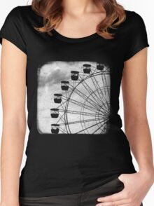 Ferris Wheel - TTV Women's Fitted Scoop T-Shirt
