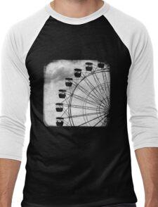 Ferris Wheel - TTV Men's Baseball ¾ T-Shirt