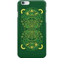 Card Back - Hylian Court Legend of Zelda iPhone Case/Skin
