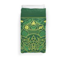 Card Back - Hylian Court Legend of Zelda Duvet Cover