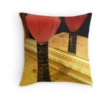 The Final Curtain Throw Pillow