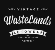 Retro Vintage Wastelands Autowear T-Shirt by 1stone