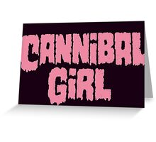Cannibal Girl Greeting Card