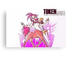 Token Arcade- Singer Canvas Print