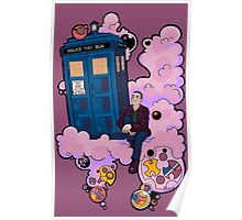Ninth Doctor and Tardis Poster